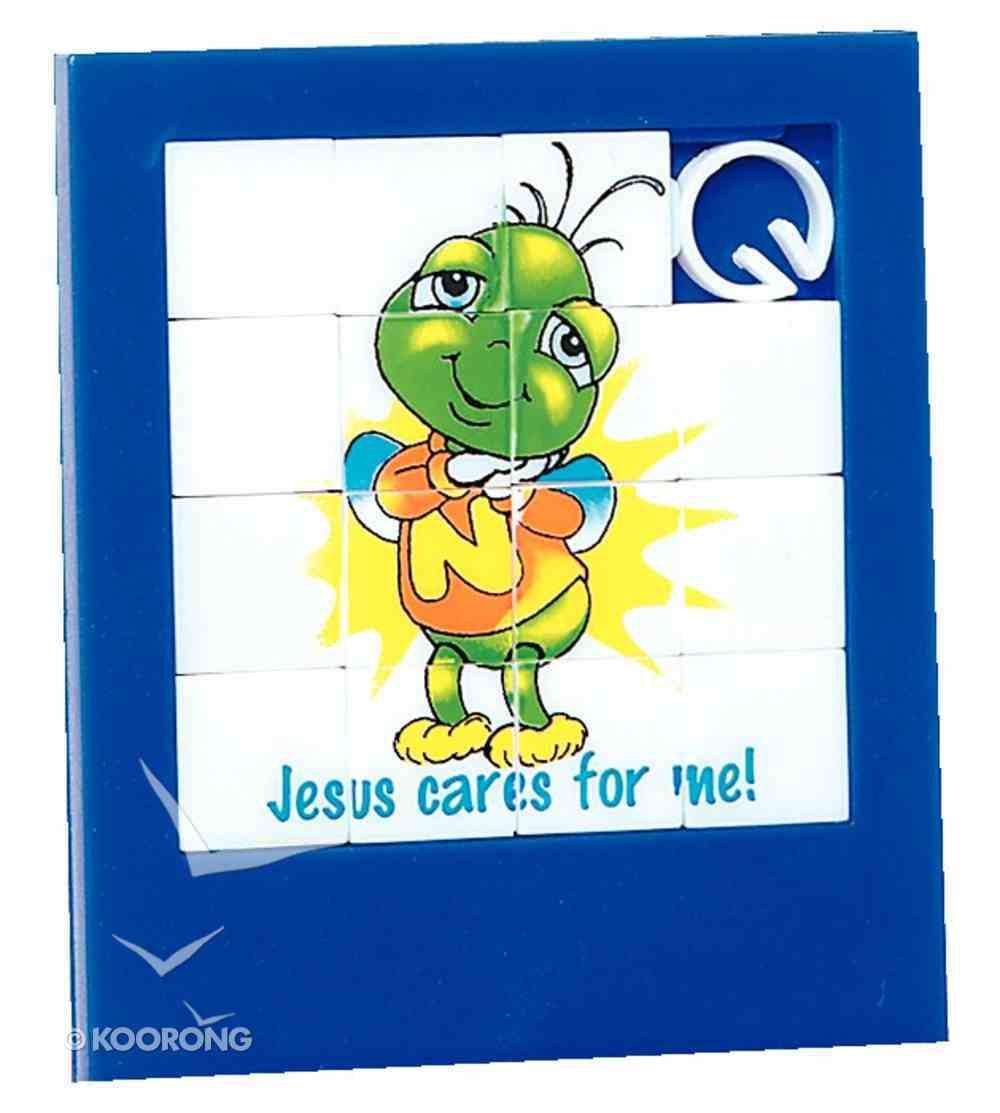 Novelty Puzzle: Jesus Cares For Me Novelty
