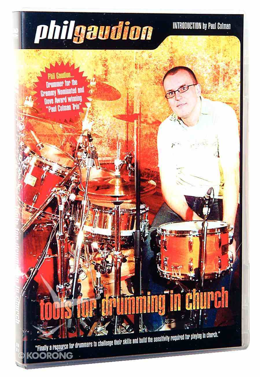 Tools For Drumming in Church DVD