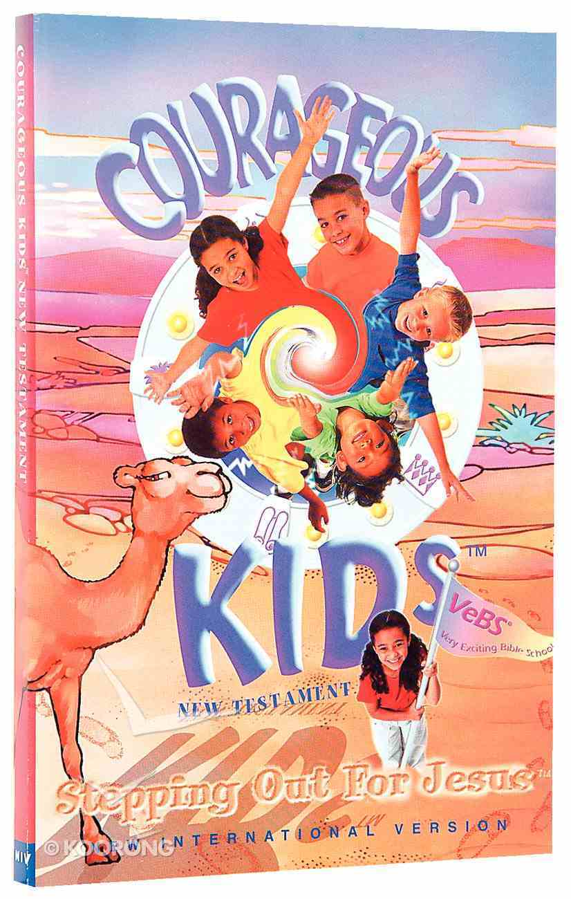 NIV Courageous Kids New Testament Paperback Paperback