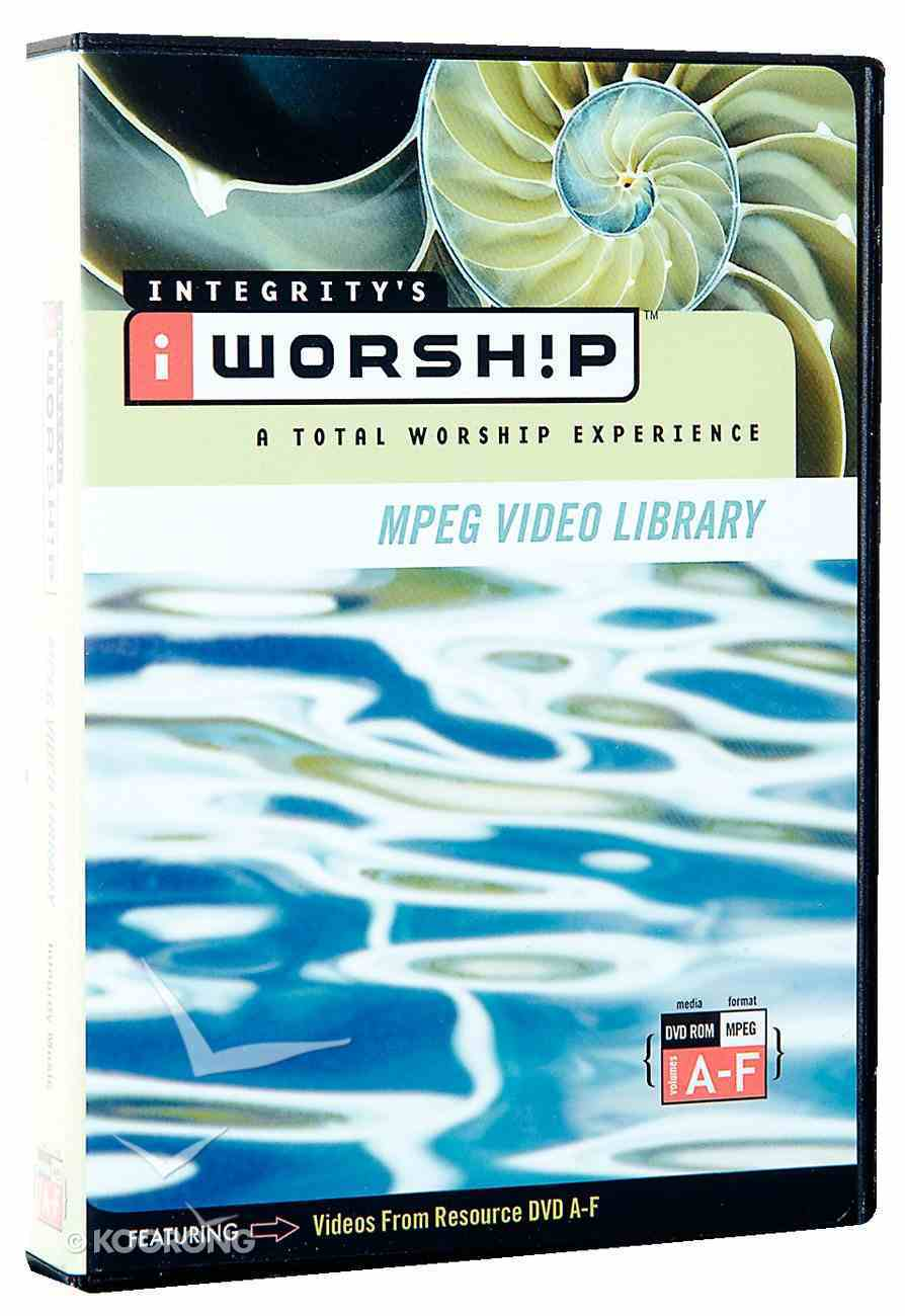 Iworship Mpeg Video Library Volume A-F DVD