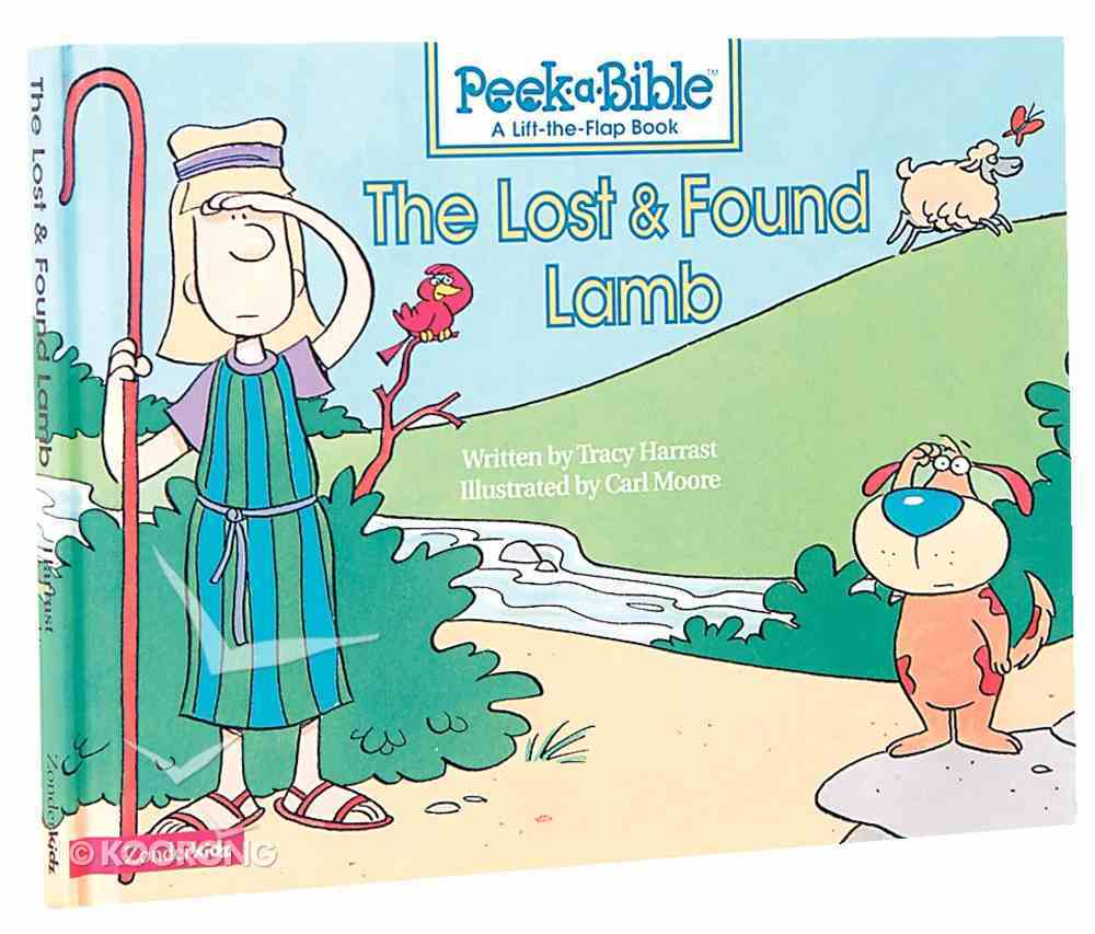 The Lost and Found Lamb (Peek-a-bible Series) Hardback