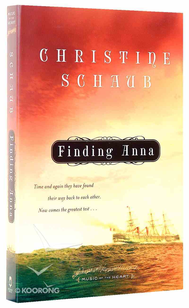 Music of the Heart #01: Finding Anna Paperback