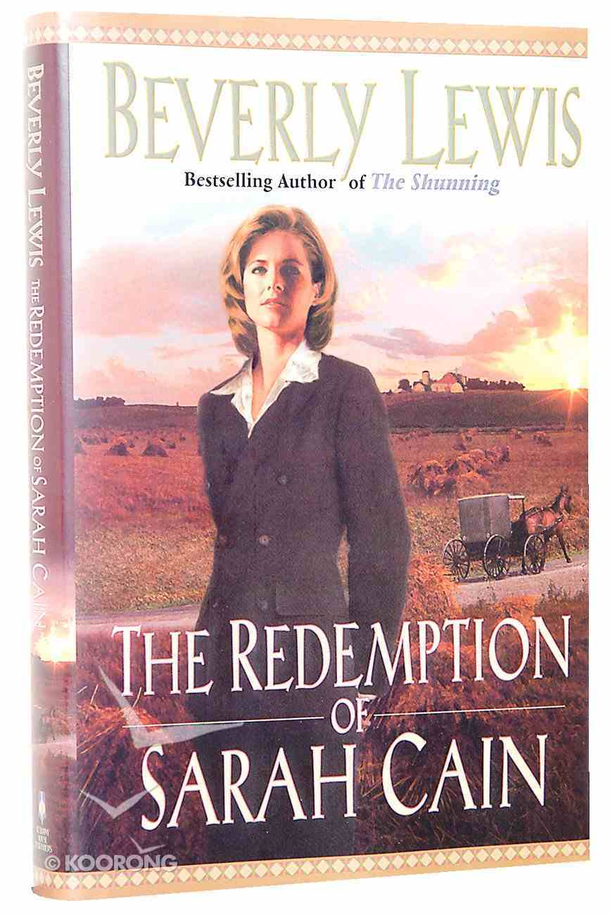 The Redemption of Sarah Cain Hardback