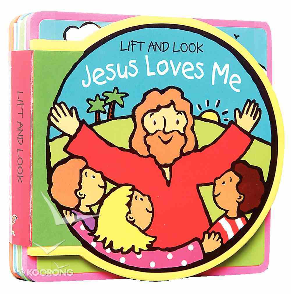 Lift and Look: Jesus Loves Me Coated Foam