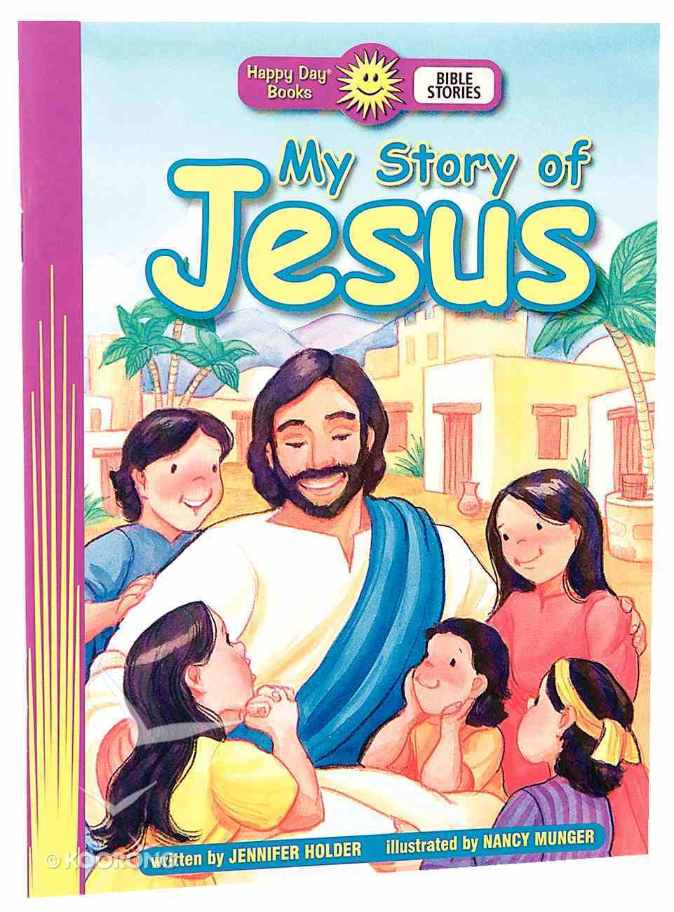 My Story of Jesus (Happy Day Colouring & Activity Series) Paperback