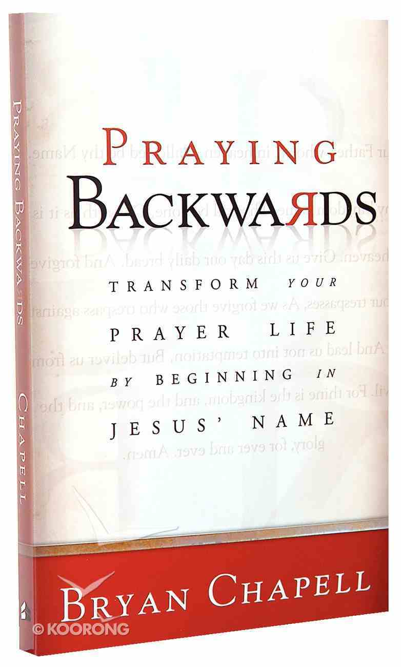Praying Backwards Paperback