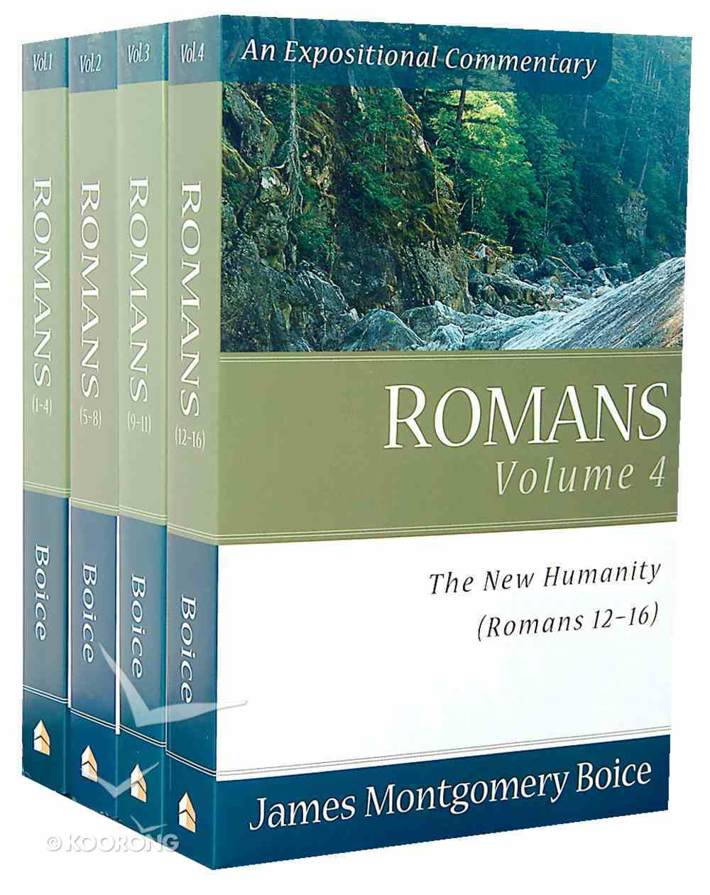 Romans (4 Volume Set) (Expositional Commentary Series) Paperback