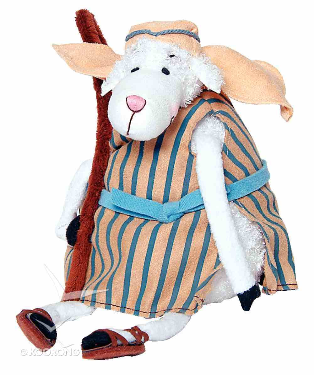 Really Woolly Plush Christmas Sheep: Jake With Staff Soft Goods