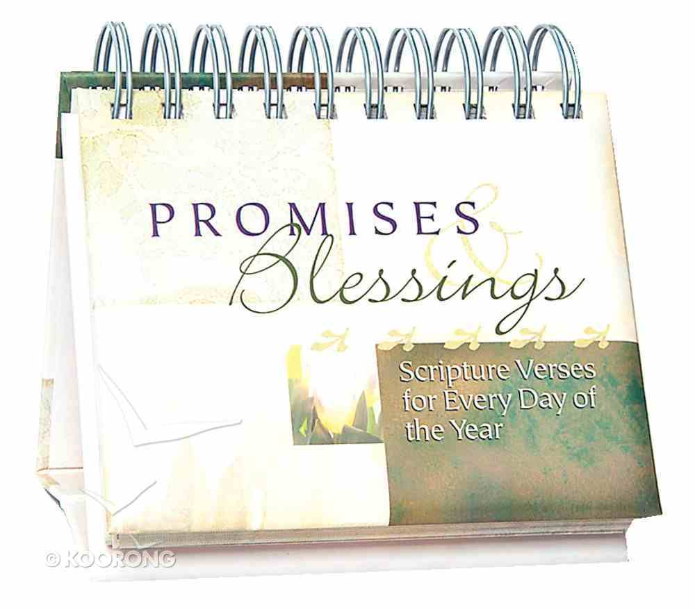 Daybrighteners: Promises and Blessings (Padded Cover) Spiral