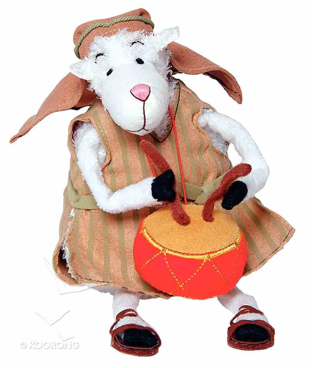 Really Woolly Plush Christmas Sheep: Zeb With Drum Soft Goods