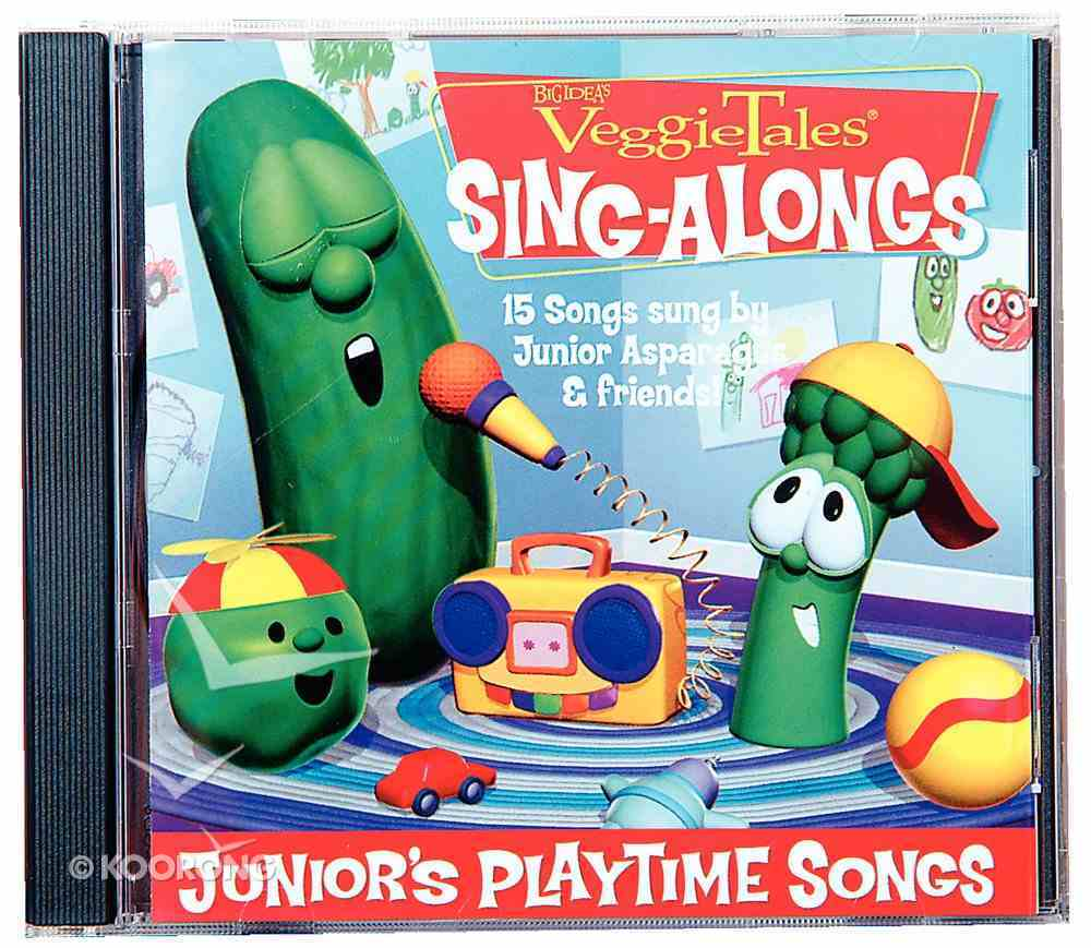 Junior's Playtime Songs (Veggie Tales Music Series) CD