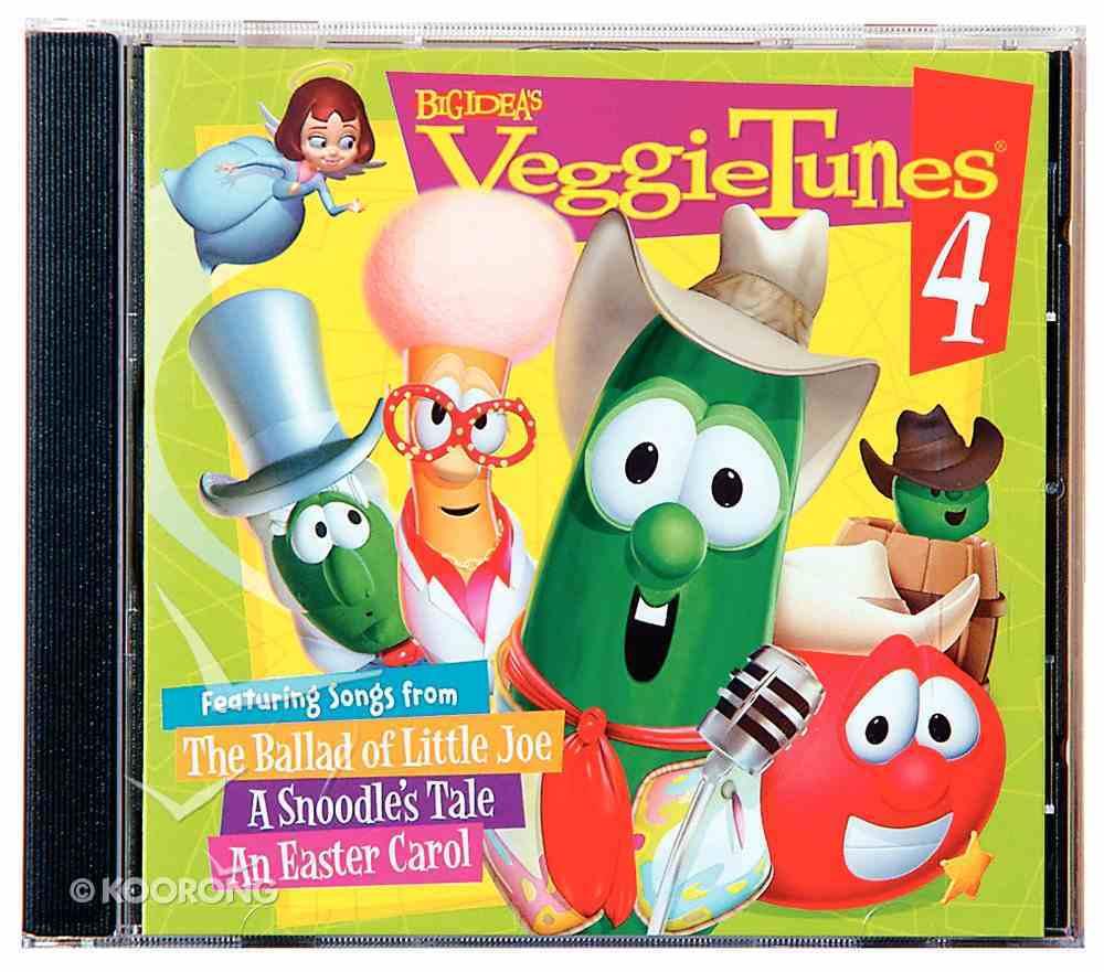 Veggie Tunes #04 (Veggie Tales Music Series) CD