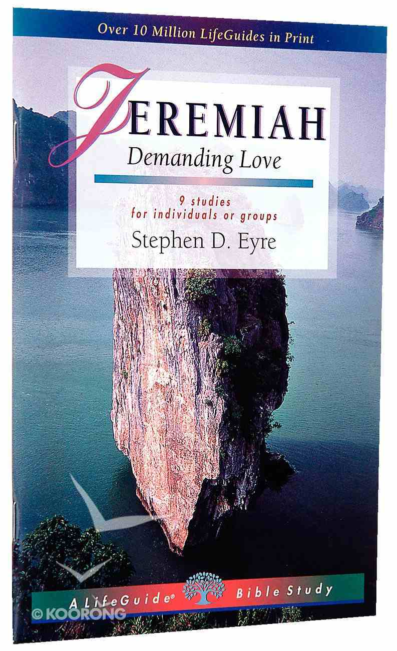 Jeremiah (Lifeguide Bible Study Series) Paperback