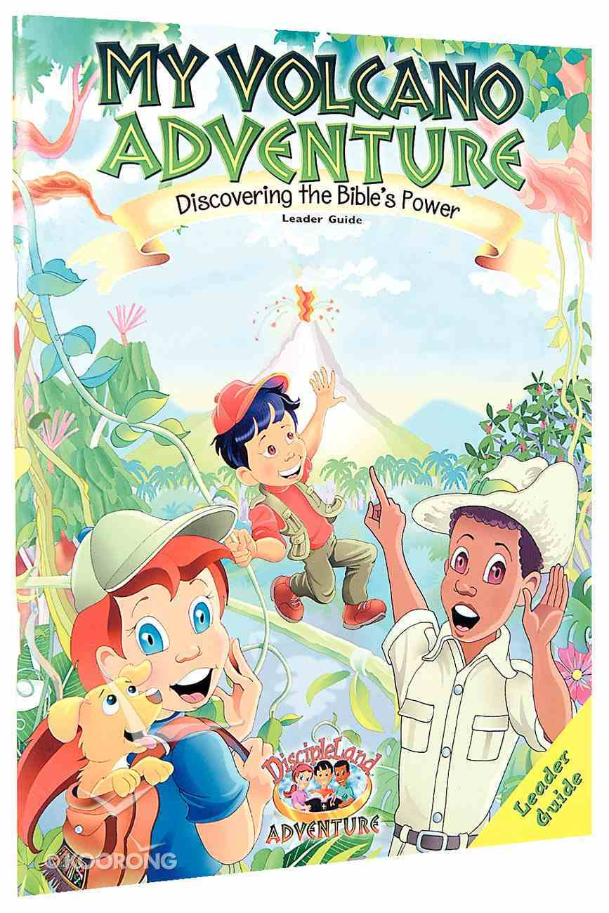 Dlc My Volcano Adventure Ages 6-12 (Leader) (Discipleland Curriculum Series) Paperback