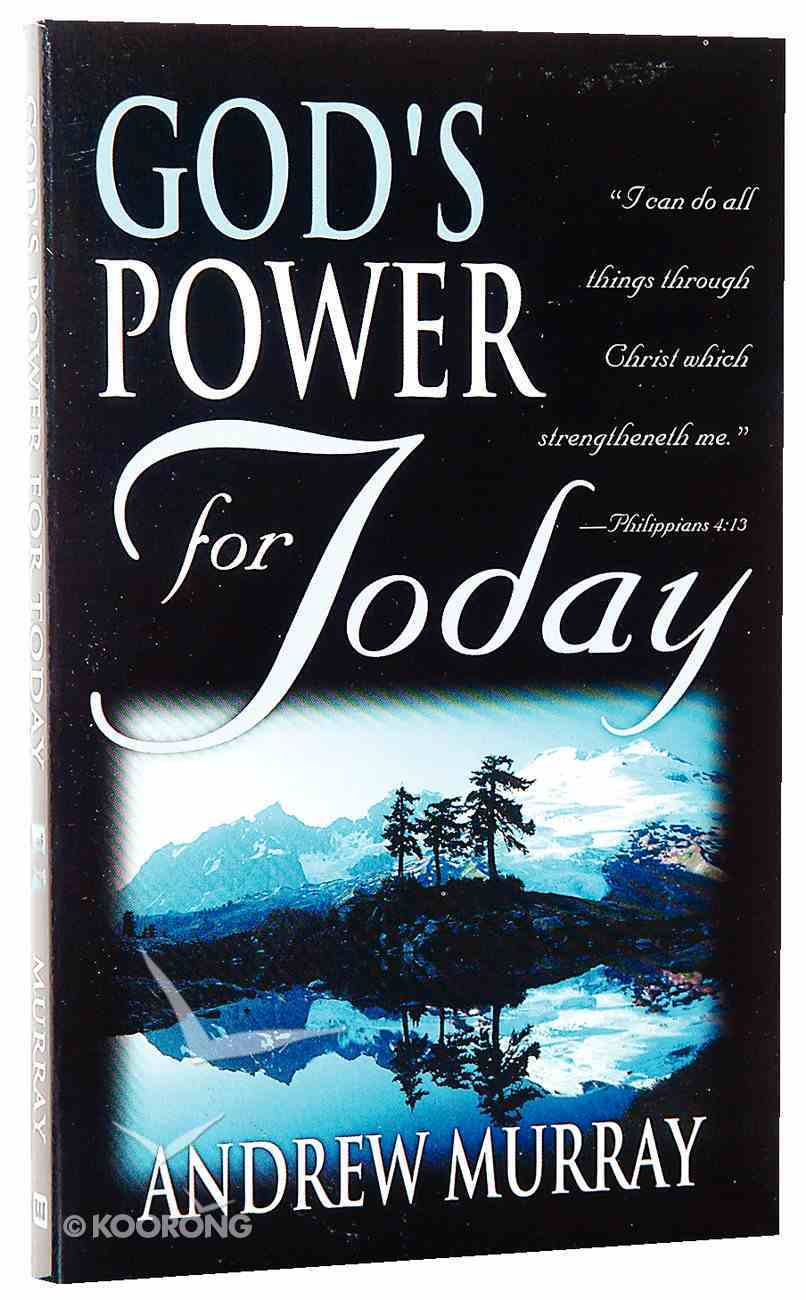 God's Power For Today Paperback