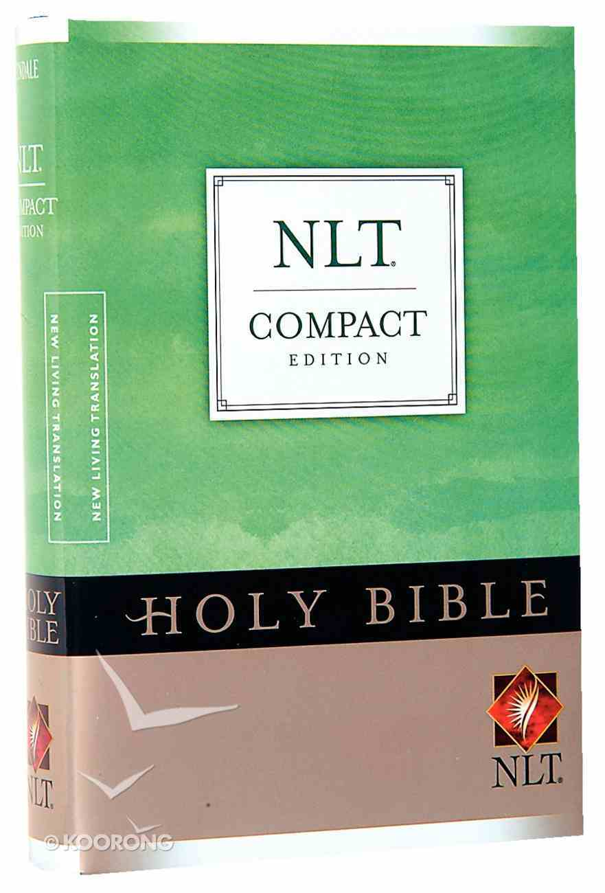 NLT Compact Bible (Red Letter Edition) Hardback
