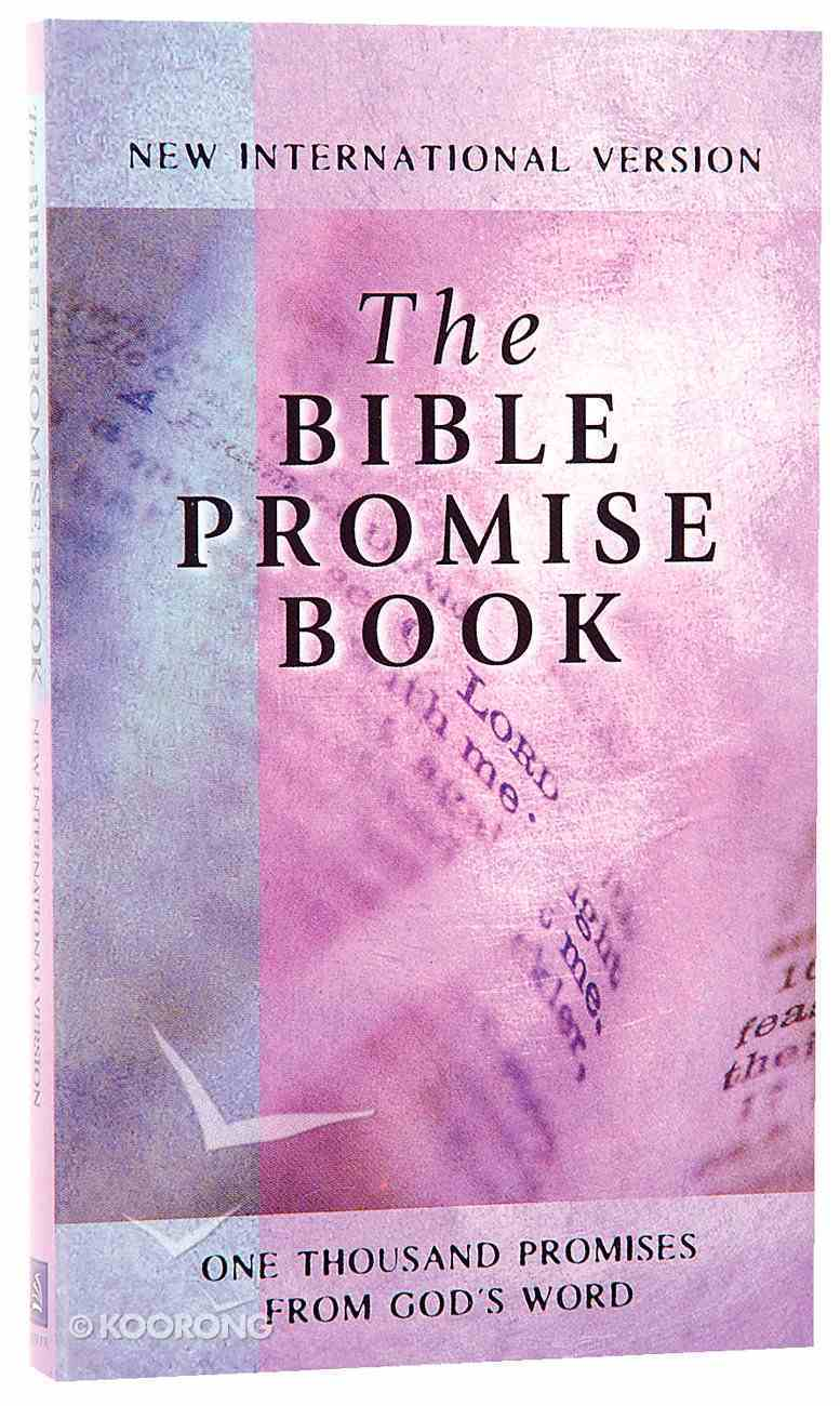 The Bible Promise Book (NIV) (The Bible Promise Book Series) Mass Market