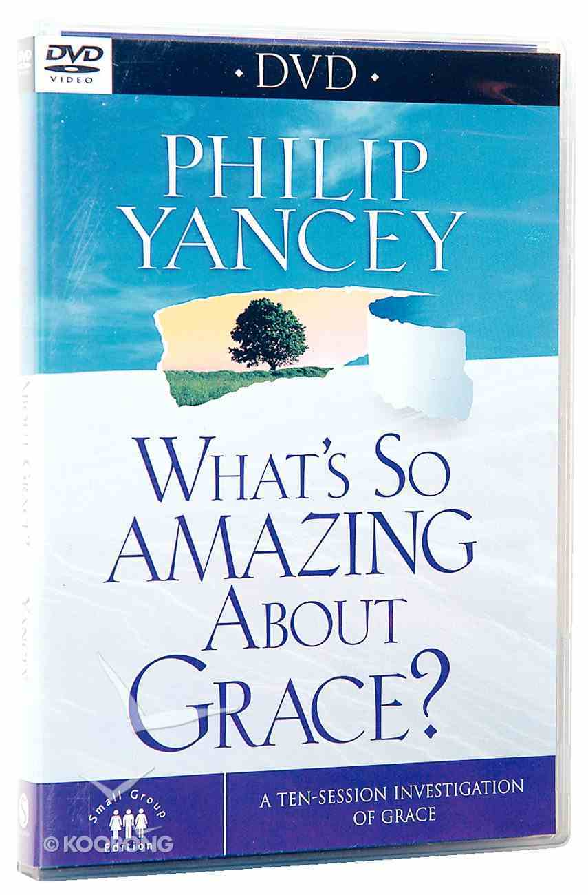 What's So Amazing About Grace? DVD (Small Group Edition) DVD
