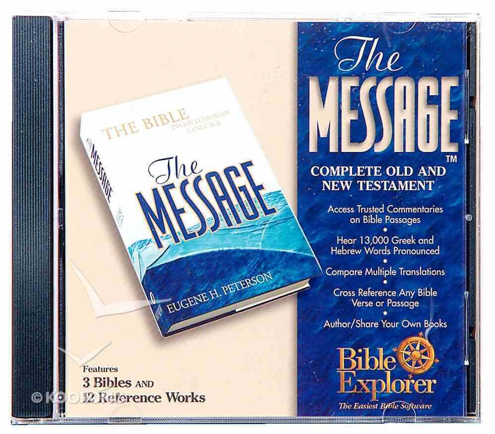 Bible Explorer 3.0 the Message Win CDROM CD-rom