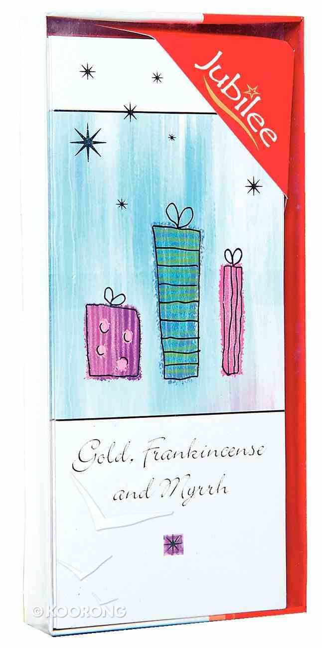 Christmas Boxed Cards: Bearing Gifts Silver Foiled Cards