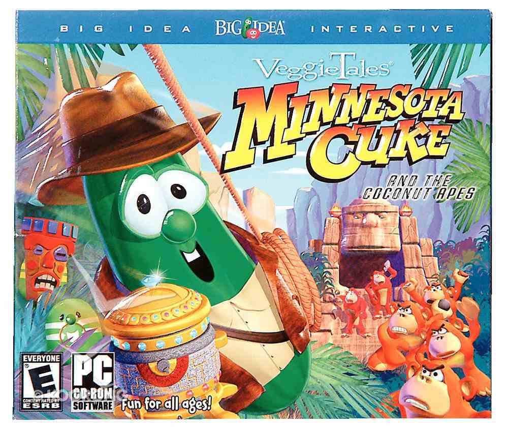 Minnesota Cuke and the Coconut Apes Game CDROM Win CD