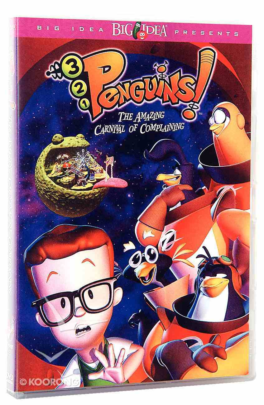 The Amazing Carnival of Complaining (#03 in 3-2-1 Penguins Video Series) DVD