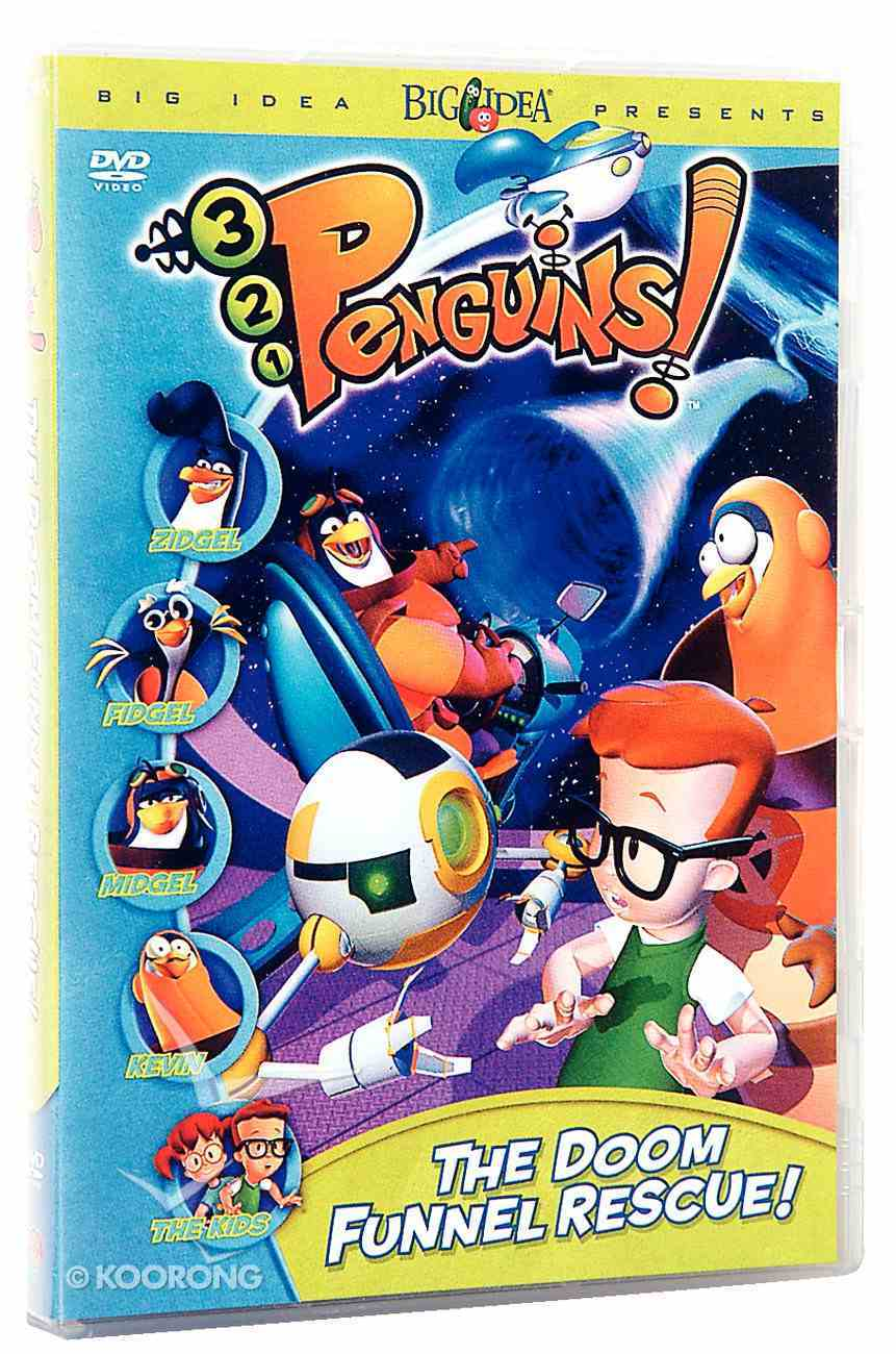 The Doom Funnel Rescue (#05 in 3-2-1 Penguins Video Series) DVD