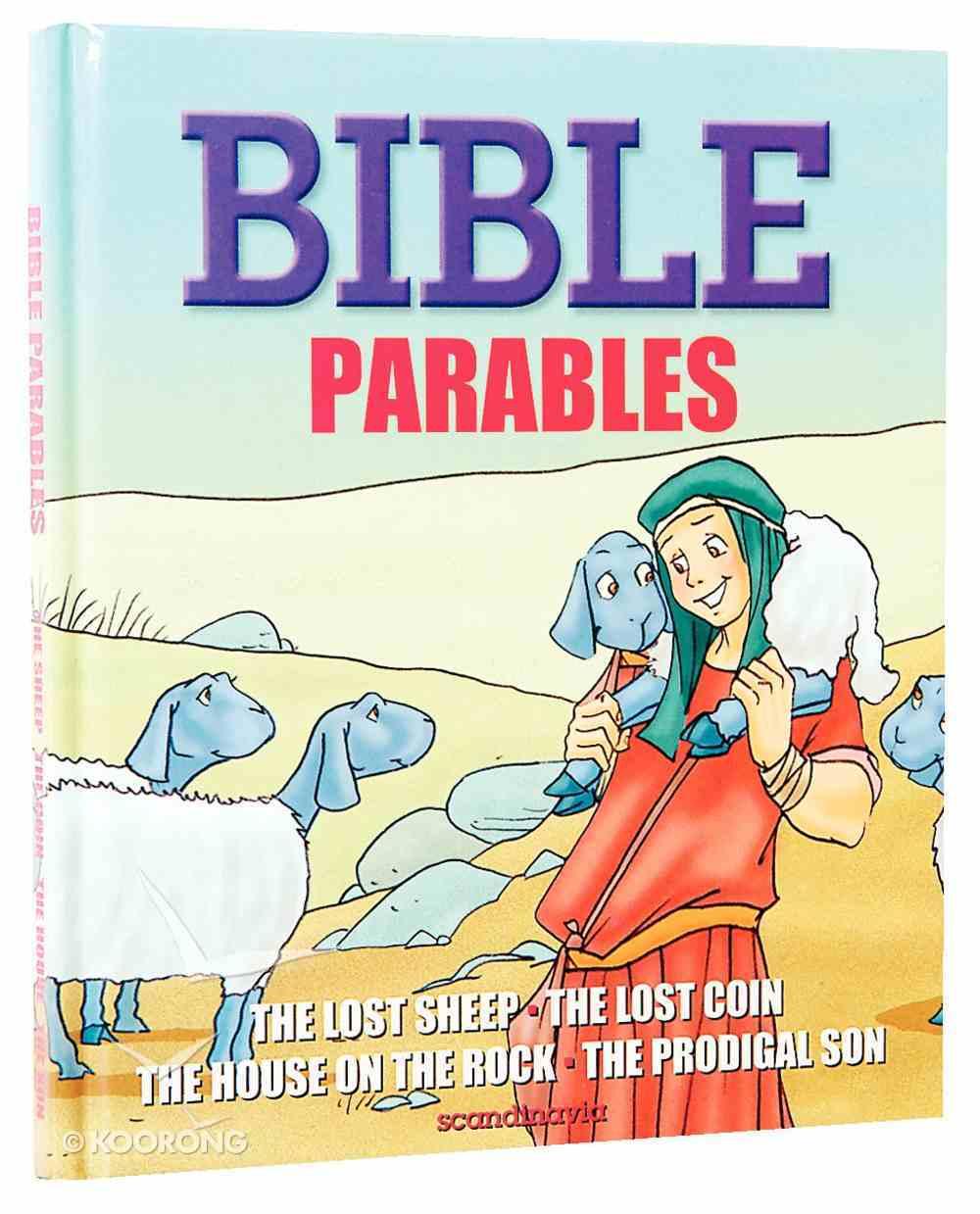 Bible Parables Hardback