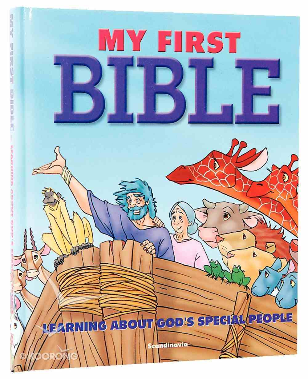 My First Bible - Learning About God's Special People Hardback