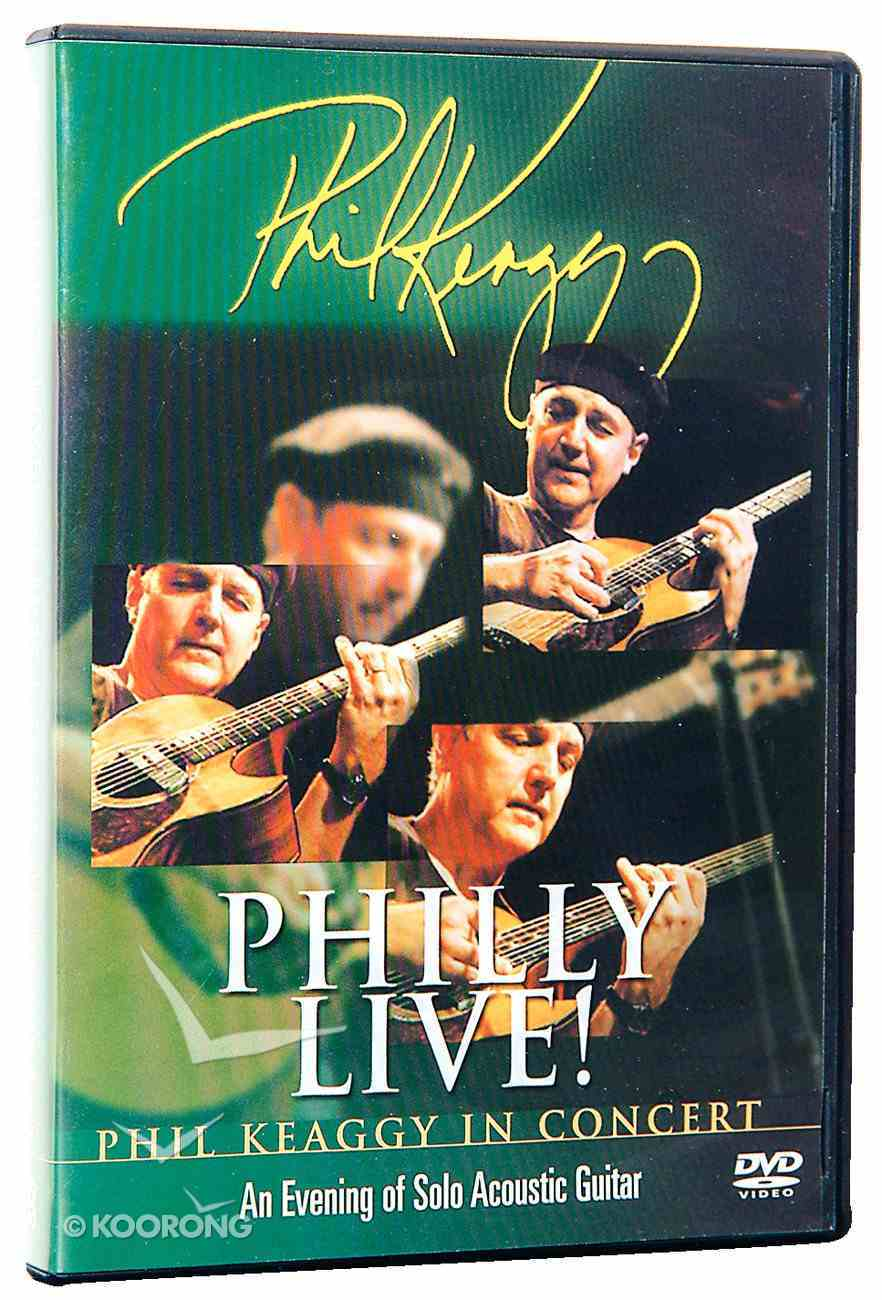 Philly Live in Concert DVD