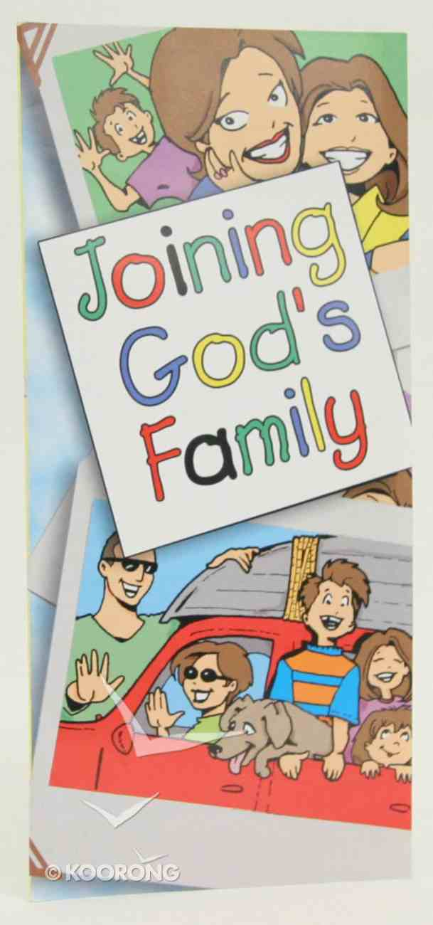 Joining God's Family Booklet