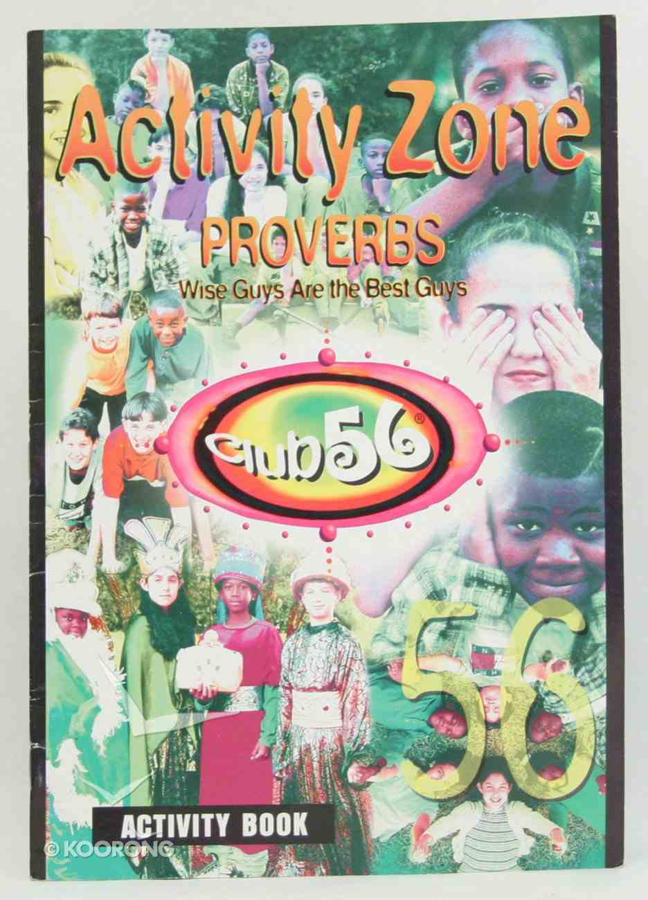 Club 56 Proverbs Activity Book Paperback