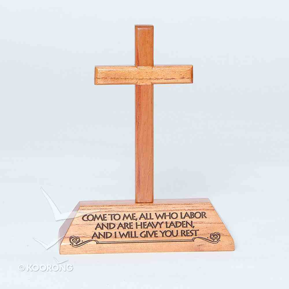 Cross on Stand: Come to Me Homeware