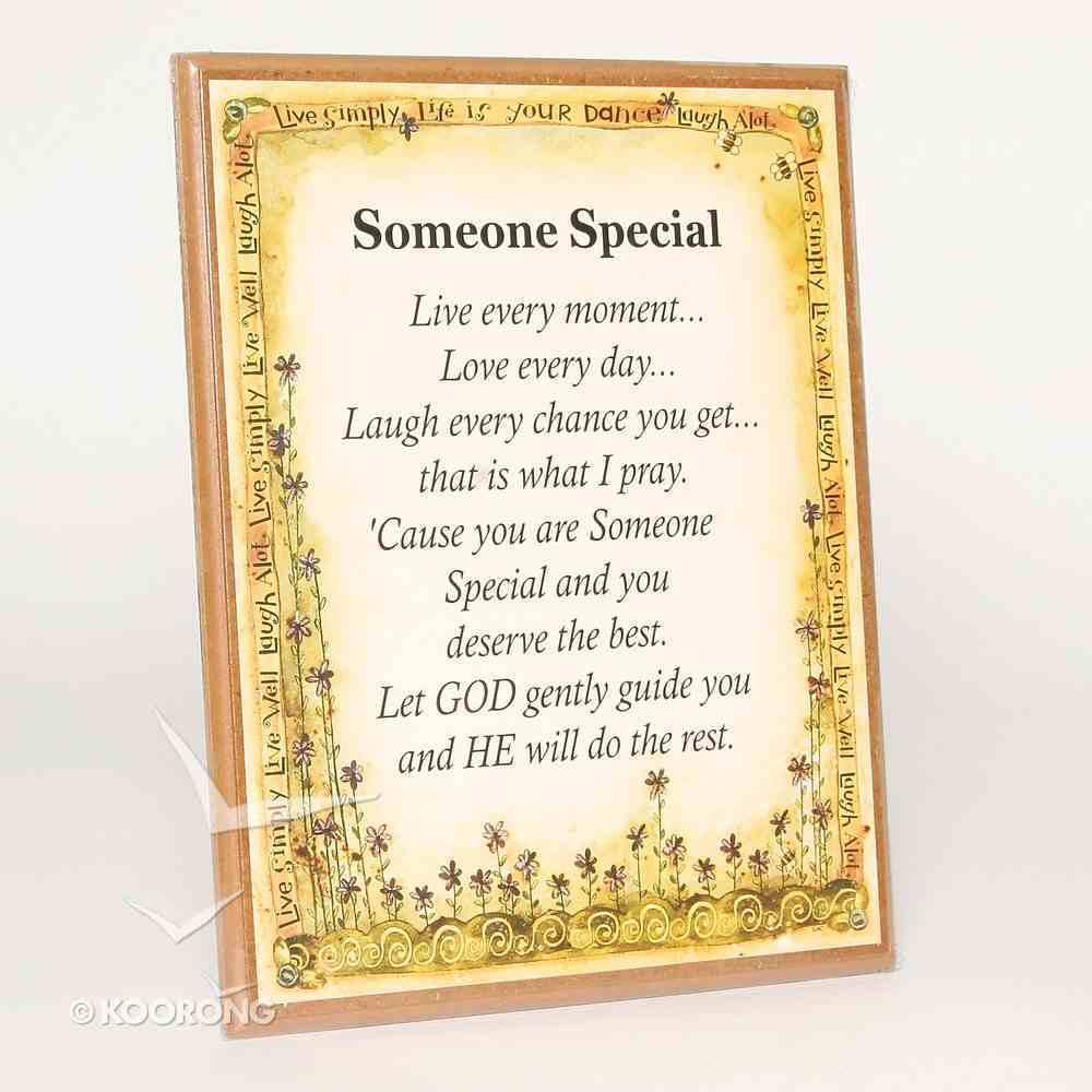 Country Plaque: Someone Special Plaque