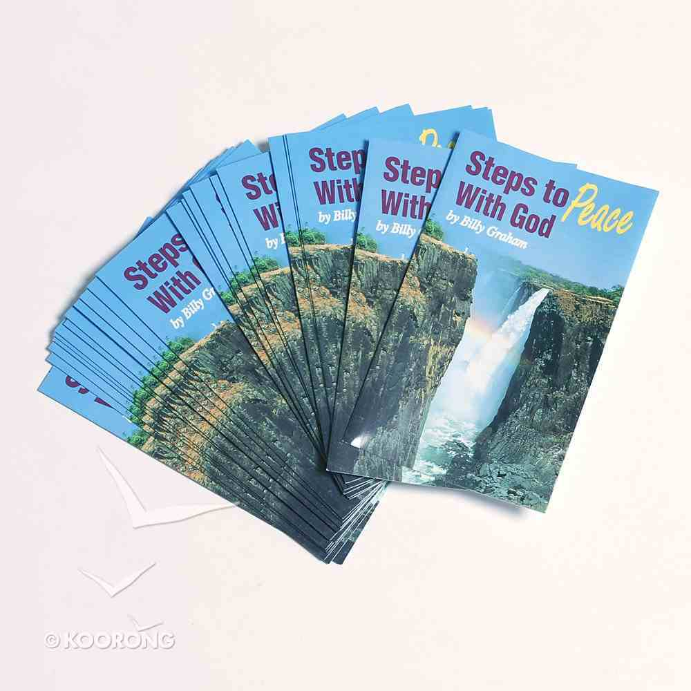 Steps to Peace With God (20 Pack) Booklet
