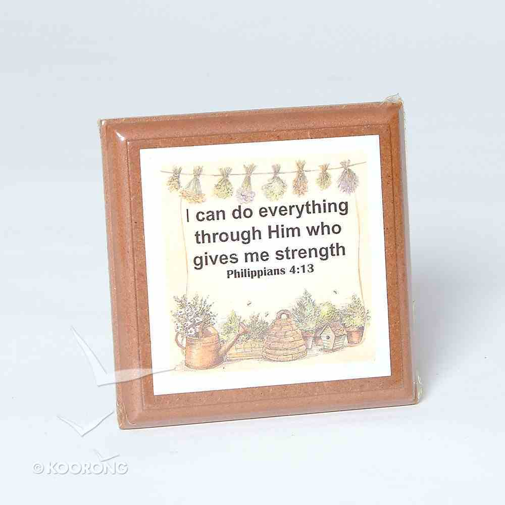 Extra Small Plaque: Philippians 4:13 Homeware