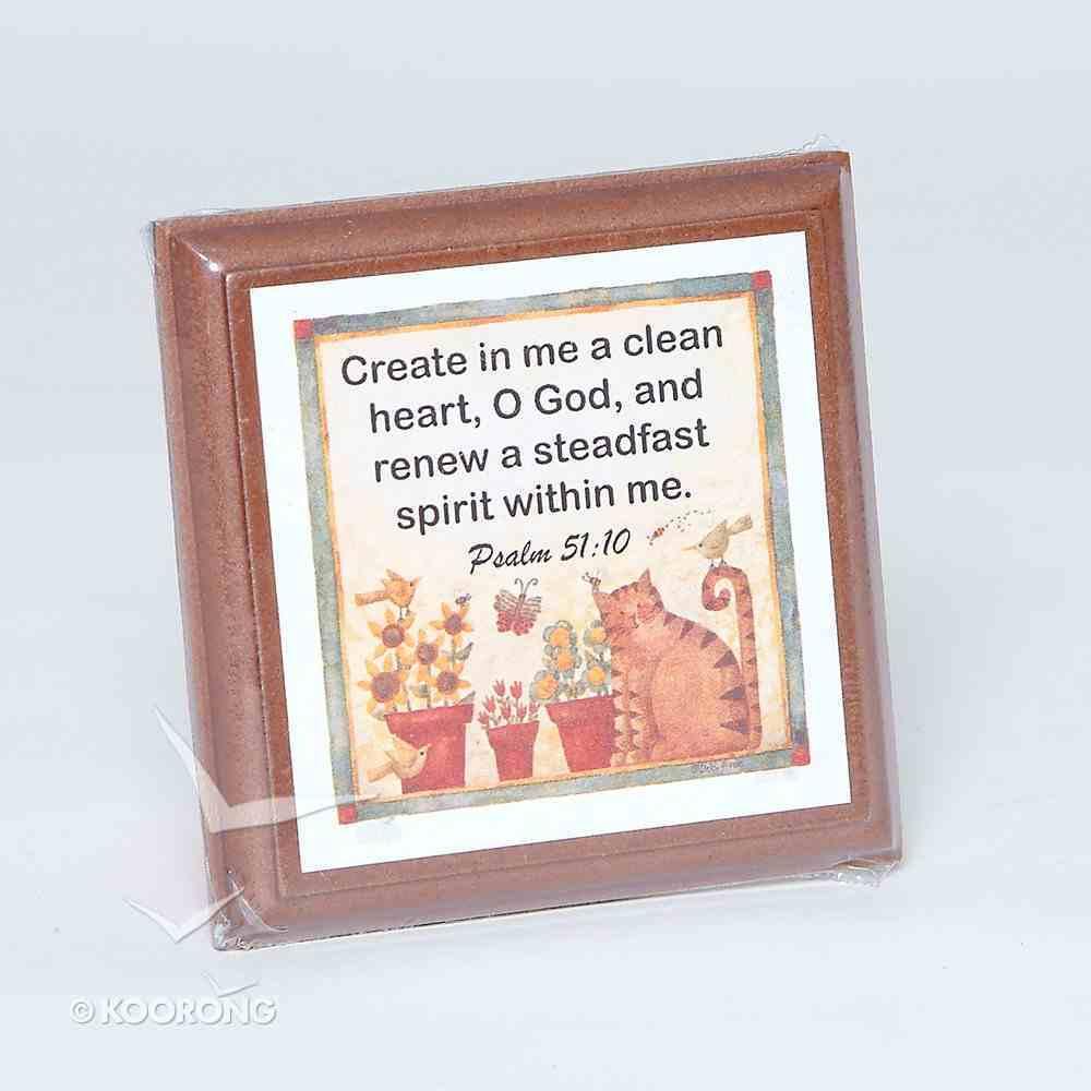 Extra Small Plaque: Psalm 51:10 Homeware