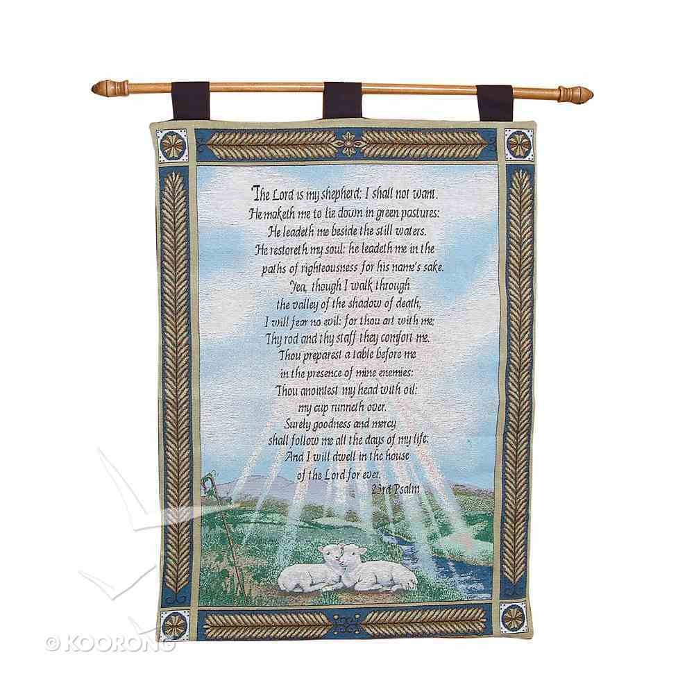 Wall Hanging: 23Rd Psalm the Lord is My Shepherd Homeware