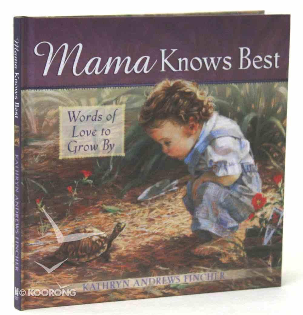 Mama Knows Best Hardback