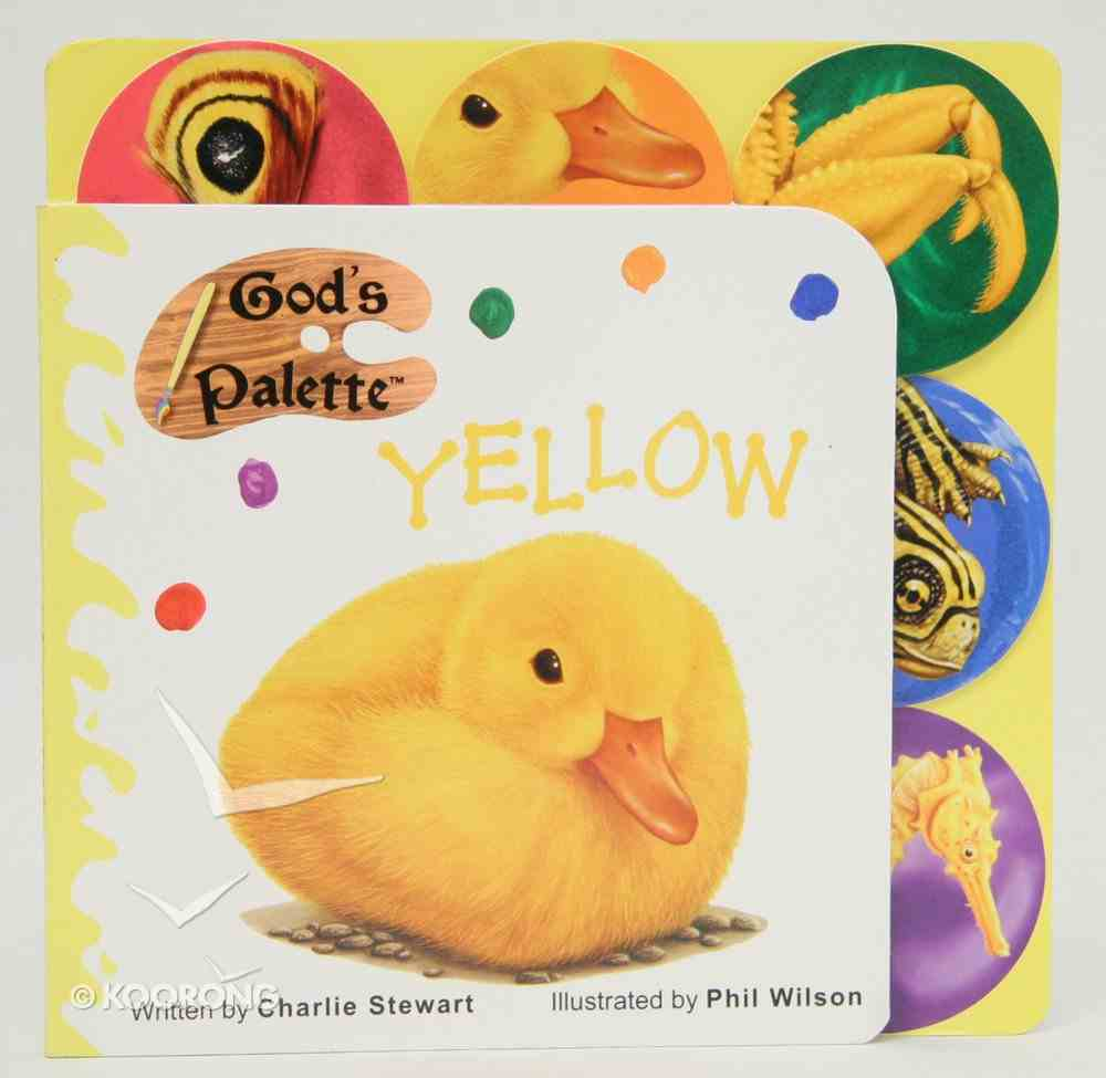 Yellow (God's Palette Series) Board Book