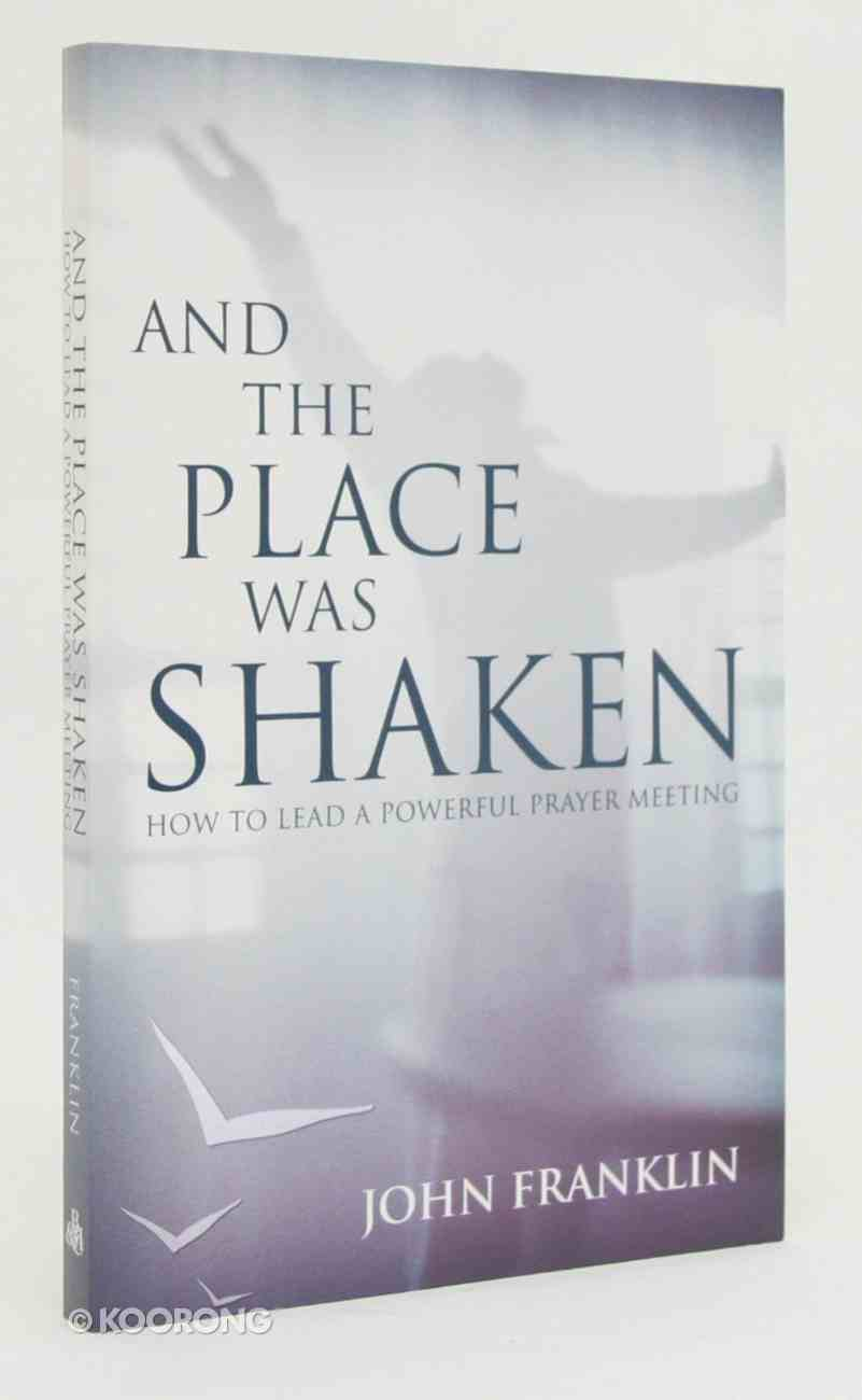 And the Place Was Shaken Paperback