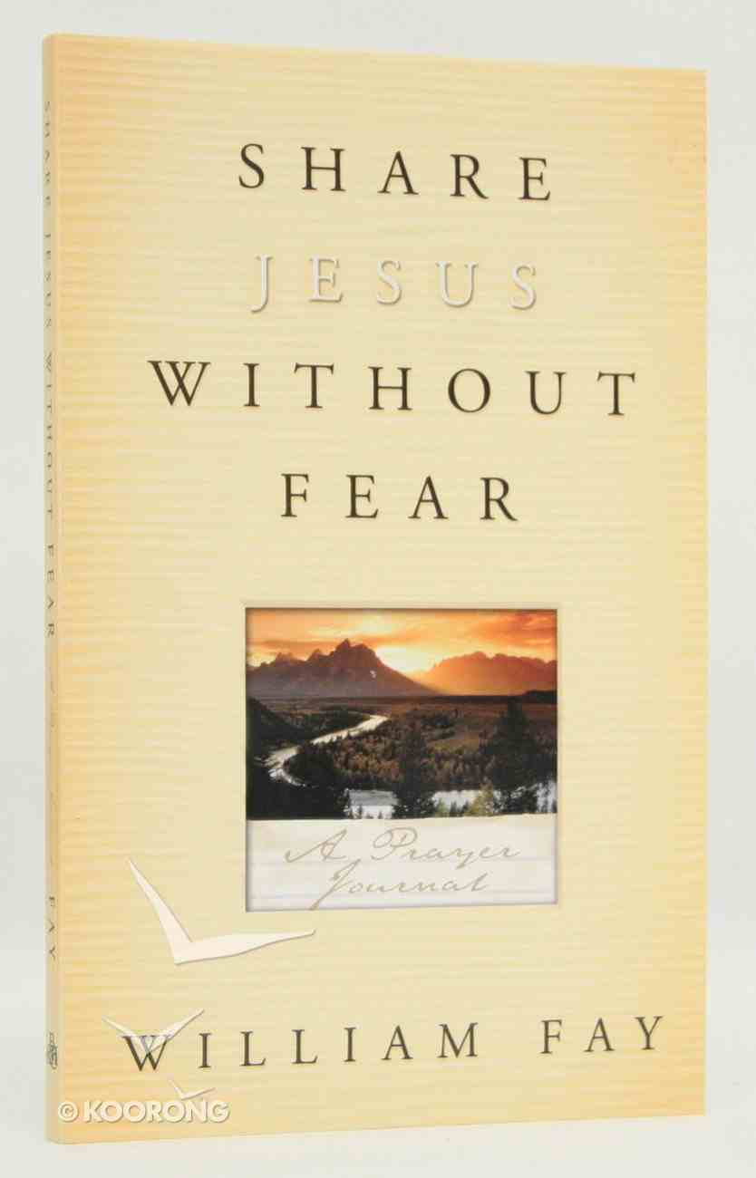 Share Jesus Without Fear (Journal) Paperback