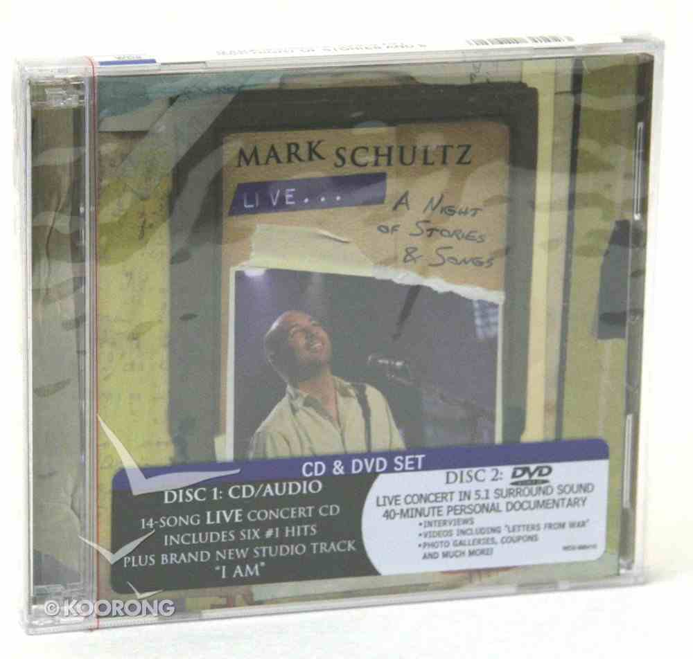 Mark Schultz Live: A Night of Stories and Songs (Cd/dvd) CD