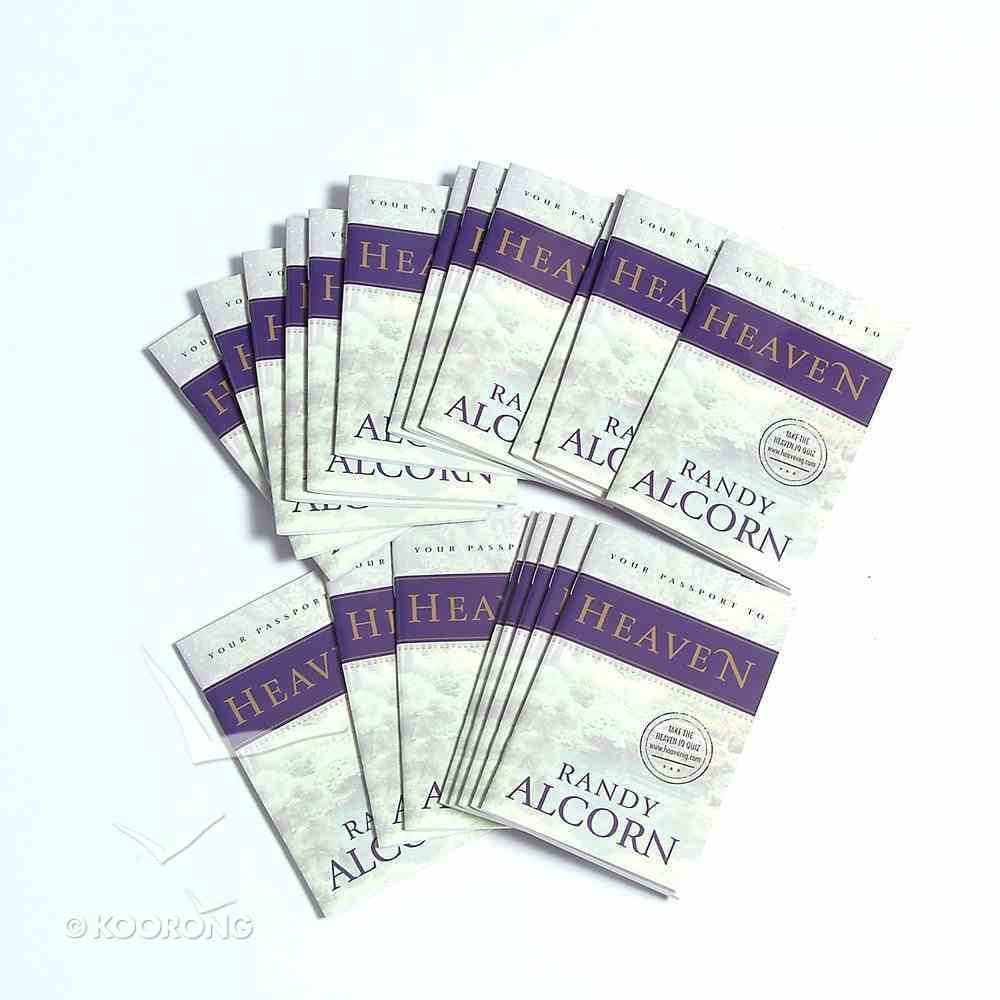 Your Passport to Heaven (20 Pack) Booklet