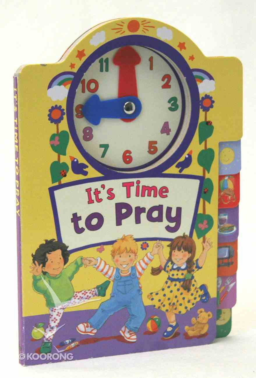 It's Time to Pray Board Book