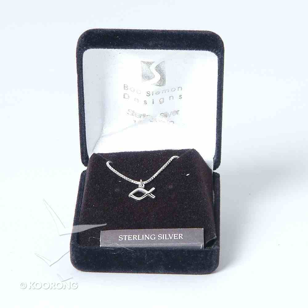 Pendant: Fish Side Small (Solid Sterling Silver) Jewellery