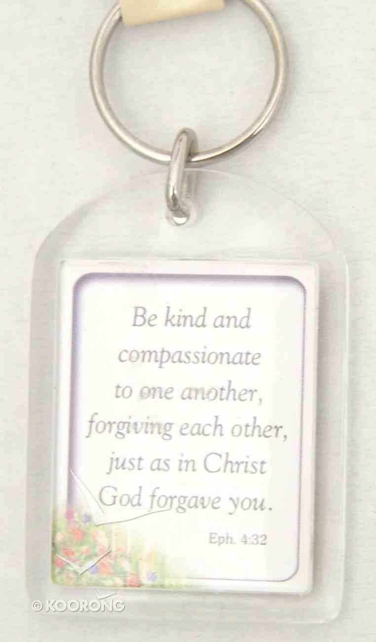 Plastic Keyring: Kindness Novelty