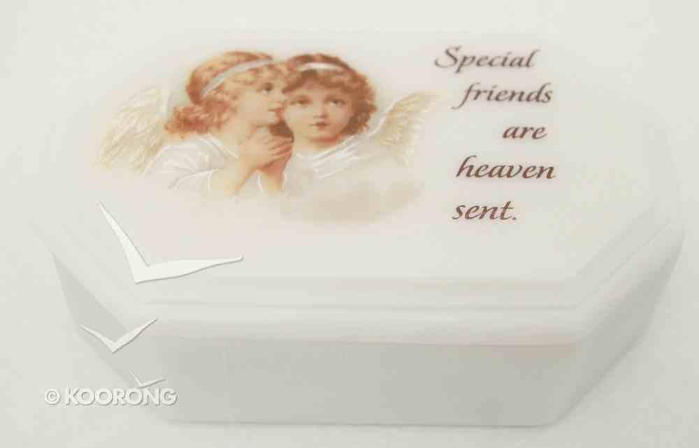 Marble Stone Octagon Treasure Box: Special Friends Homeware