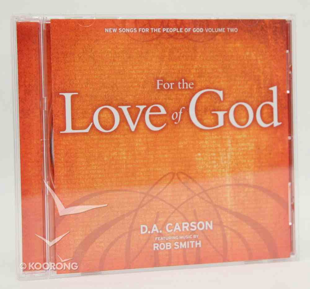 For the Love of God CD