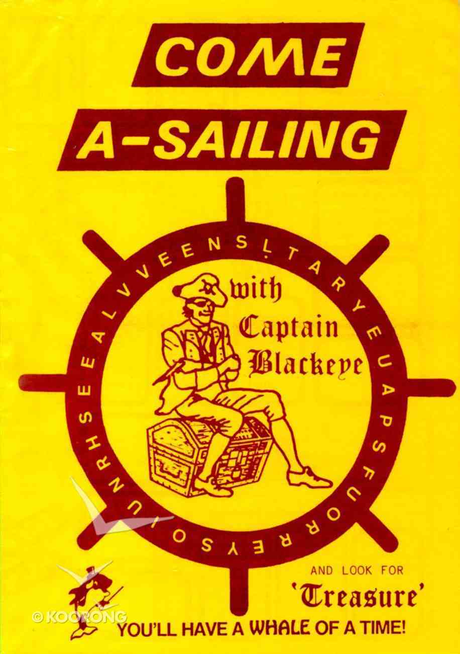 Captain Blackeye Puzzle Book Paperback